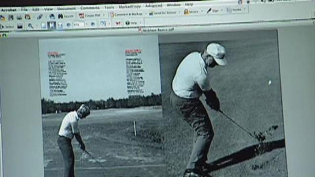 Golf Digest Behind the Scenes - Making an Instruction Article with Jack Nicklaus