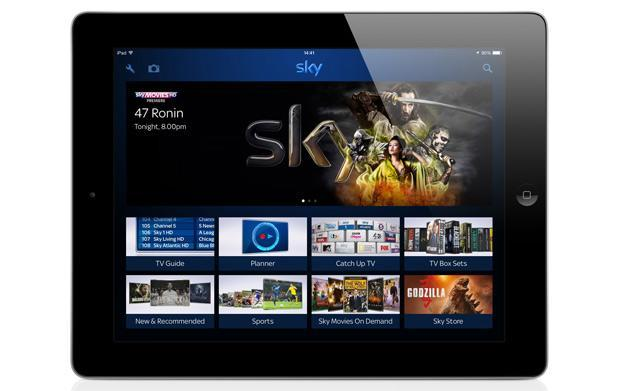 New Sky+ app pushes pictures from your mobile devices to the big screen