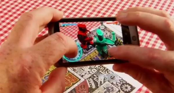 Qualcomm demos augmented reality and peer-to-peer tech, tries to punch cellular gaming's block off (video)