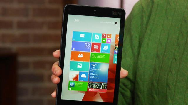 Lenovo ThinkPad 8 adds high-res to a Win 8 tablet