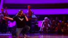 The Voice UK contestant wows Olly with Disney cover