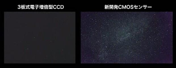 Canon sensor records video in very low light, sees movie stars of a different sort