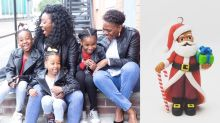 Mums launch range of Christmas decorations of colour to make the festive season more inclusive