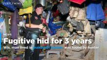 Wisconsin fugitive survives for 3 years in makeshift bunker