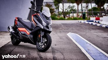 探索更跨界的可能性!Kymco全新DT X360賽道試駕體驗!