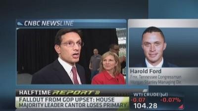 Washington & Wall Street dealing with Cantor fallout