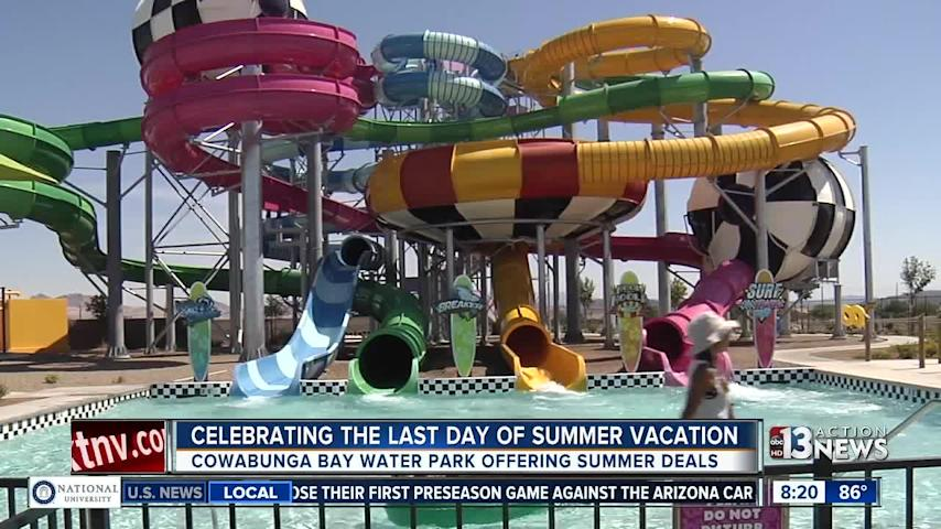 Spend your last day of summer vacation at Cowabunga Bay
