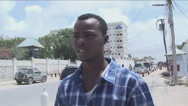 Somali leader moved to presidential complex after attack