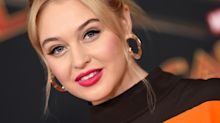 Iskra Lawrence reveals body image 'challenge' while pregnant