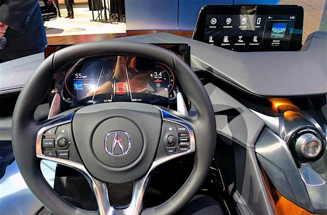 Acura's Precision Cockpit fuses AI and Android in your auto