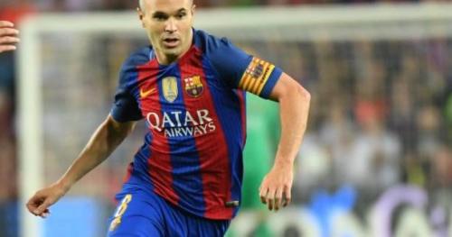 Foot - ESP - Barça - Barça : Andrès Iniesta de retour à l'entraînement