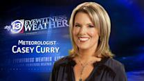 Casey Curry's Wednesday weather forecast