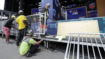 Could bad weather derail NFL draft?