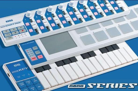 Korg nanoSERIES USB controllers unboxed, previewed