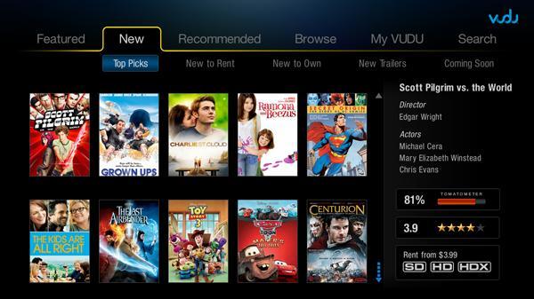 VUDU hits PS3 on November 23rd, UI overhaul coming mid-December