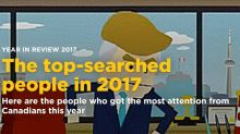 Year in Review 2017: The most-searched person of the year