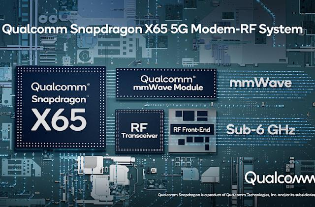 Qualcomm unveils the first 10-gigabit 5G modem