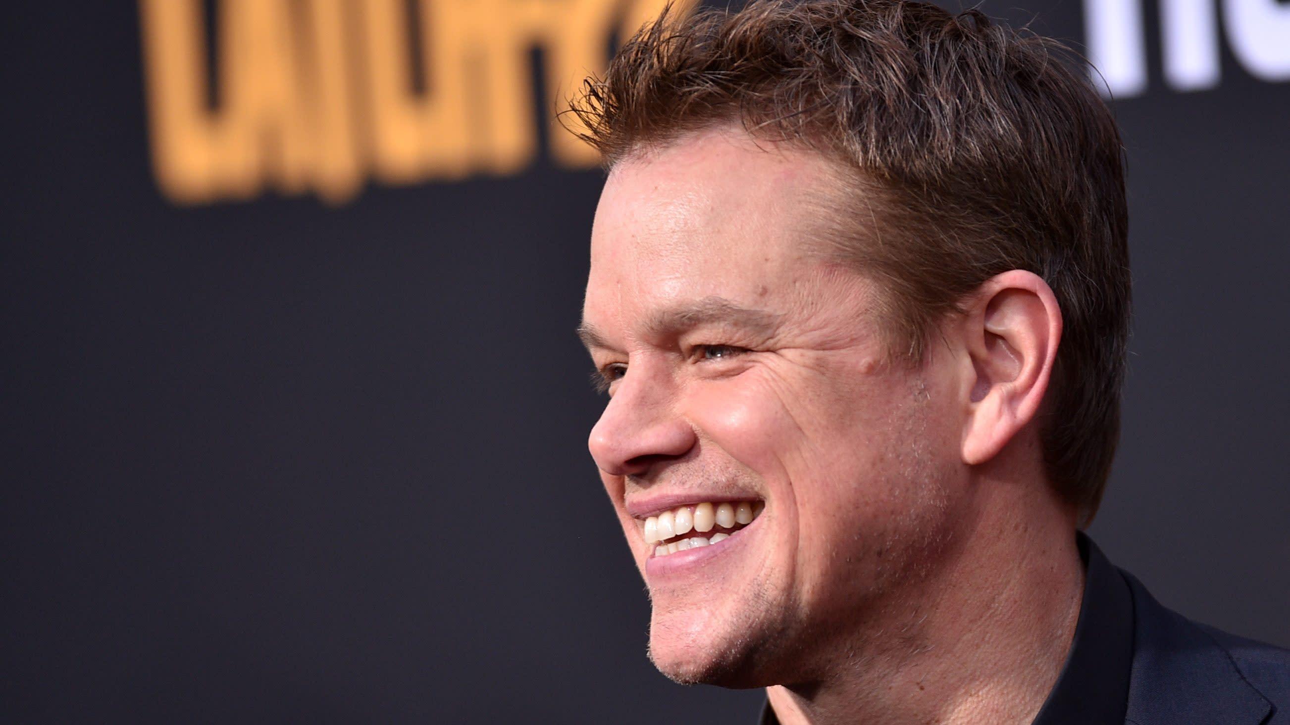 Matt Damon To Star In ...