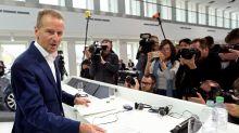 Volkswagen boss apologises for using phrase similar to a Nazi slogan