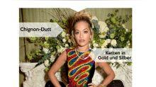 Look des Tages: Rita Ora im farbenfrohen Minikleid