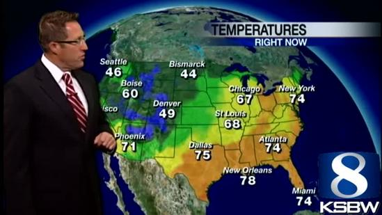 Get Your Tuesday KSBW Weather Forecast 5.21.13