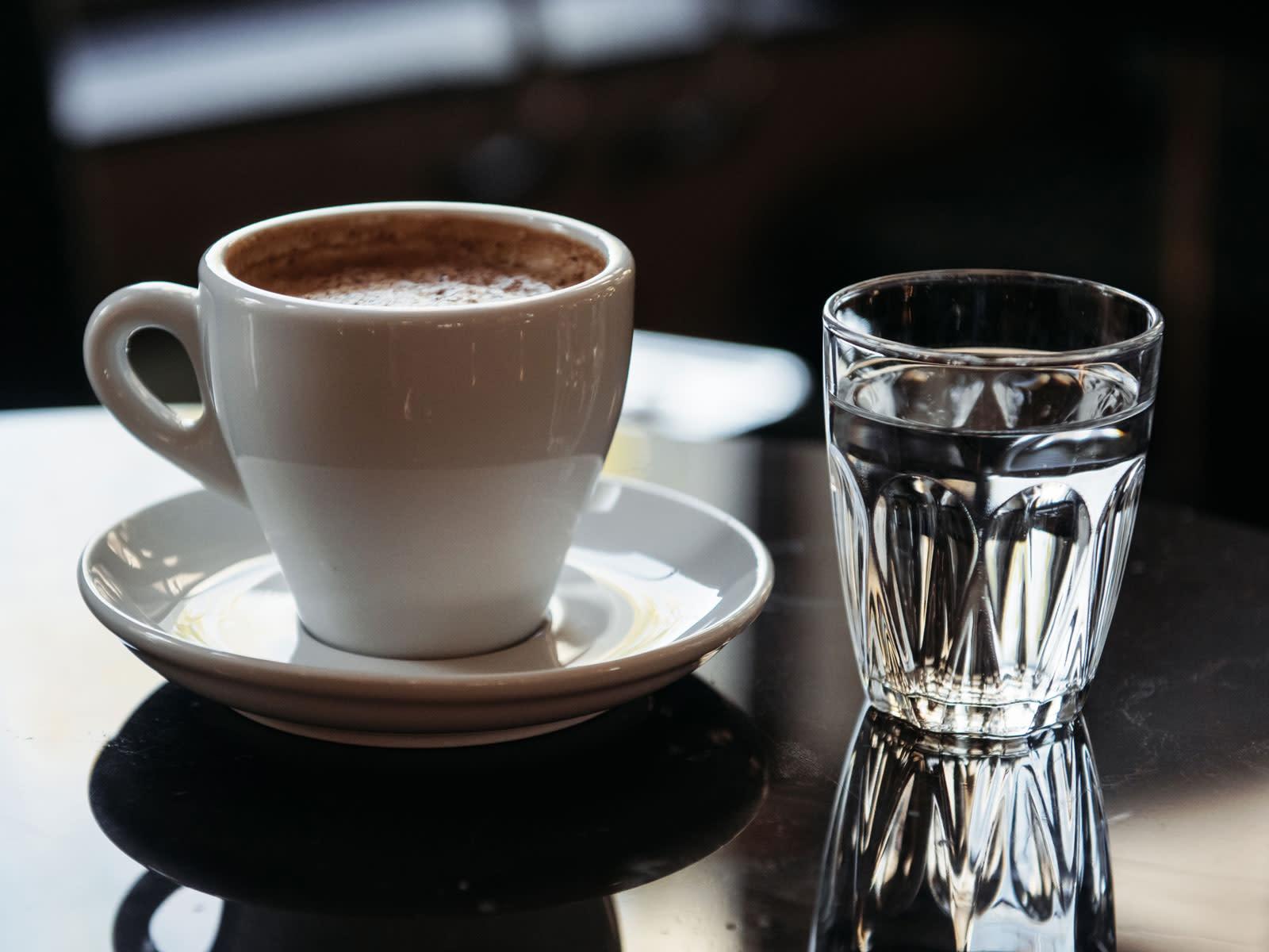 кофе и вода картинка одно мероприятий рамках