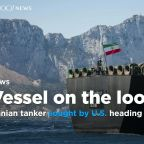 Iranian tanker sought by U.S. heading for Greece