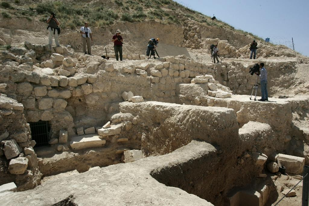 The ring bearing the name of Pontius Pilate was found at Herodium, an archaeological site near Jerusalem and Bethlehem in the Israeli-occupied West Bank