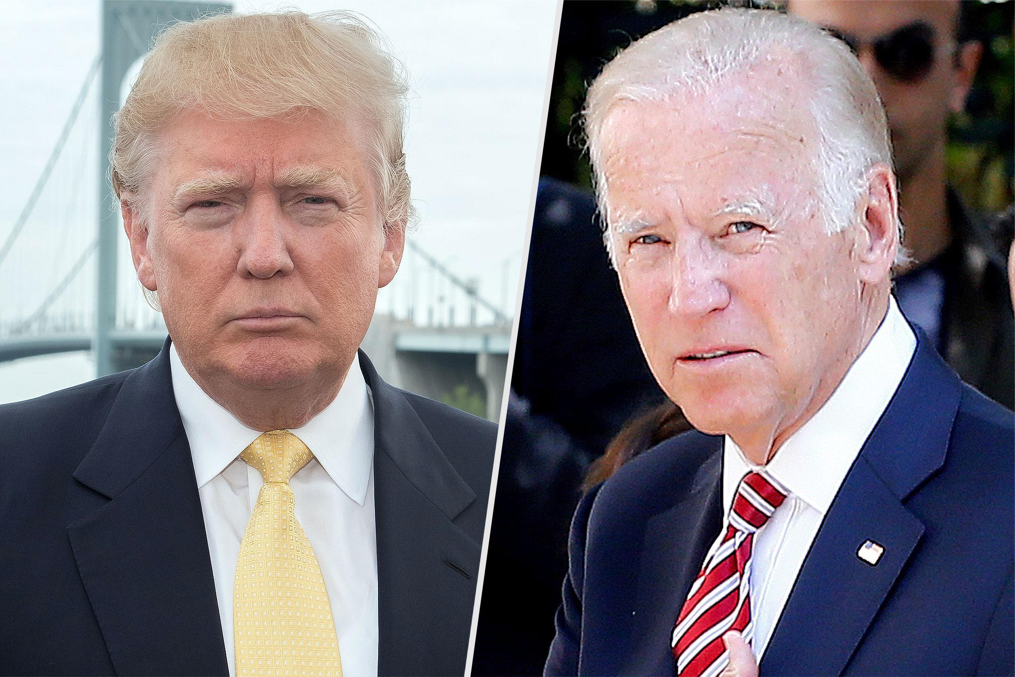 Trump Boasts Biden 'Would Go Down Fast and Hard' After Former VP Says He'd Have Fought Trump in HS
