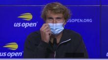 Tennis - ATP - US Open : Zverev : «Je n'ai pas bien joué»