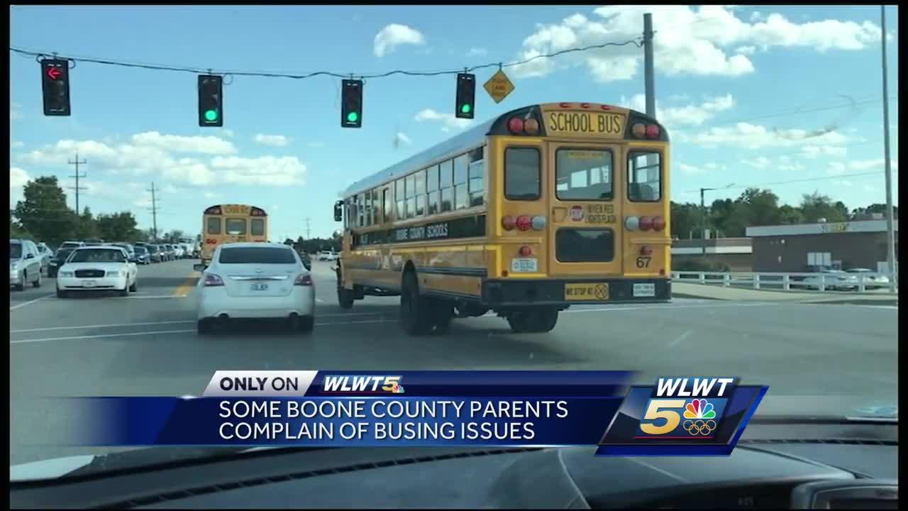 Boone County school parents upset over busing delays