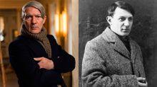 Antonio Banderas cambia de look para convertirse en Pablo Picasso