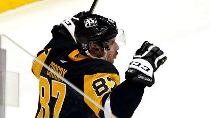 Crosby's OT goal lifts Penguins past Capitals
