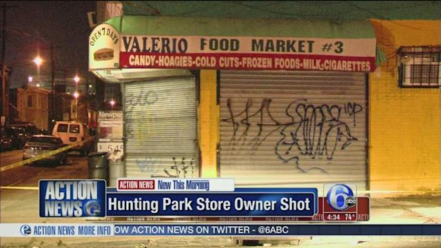 Store owner shot and robbed in Hunting Park