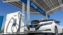 Nissan and EVgo to add 200 fast chargers as more electric vehicles hit US roads