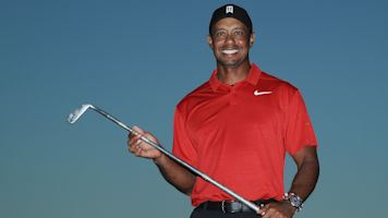 He's back: Tiger claims first tour win since 2013