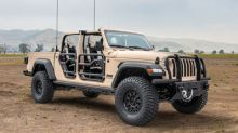AM General and Fiat Chrysler Automobiles Partner to Develop New Light Tactical Concept Vehicle - Jeep Gladiator XMT