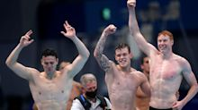 Tom Dean doubles up as Great Britain's gold rush continues with relay win