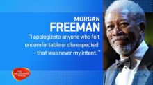 Morgan Freeman apologises in wake of sexual harassment claims