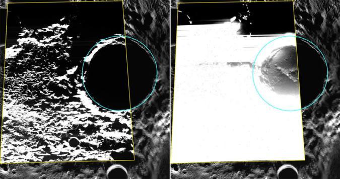 NASA's Messenger captures first photos of ice on Mercury