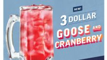 Applebee's® Features New 3 DOLLAR Goose and Cranberry for July Neighborhood Drink