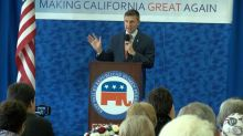 Michael Flynn campaigns in California for GOP candidate