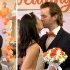Whataburger fans get dream wedding at their favorite restaurant