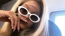 Blondine: Rihanna überrascht Fans mit superlanger Mähne
