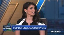 What's working: Defense stock plays