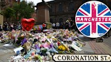 Corrie airs on-screen tribute to terror attack victims