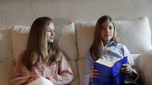 Critican el mensaje de Leonor y Sofía. ¿Es una crítica velada a su madre la Reina Letizia ?