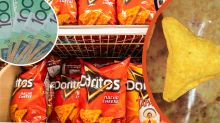 Doritos pay Gold Coast girl $20,000 for 'unique' puffy chip