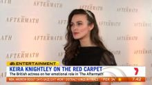 Keira Knightley walks red carpet for movie premiere