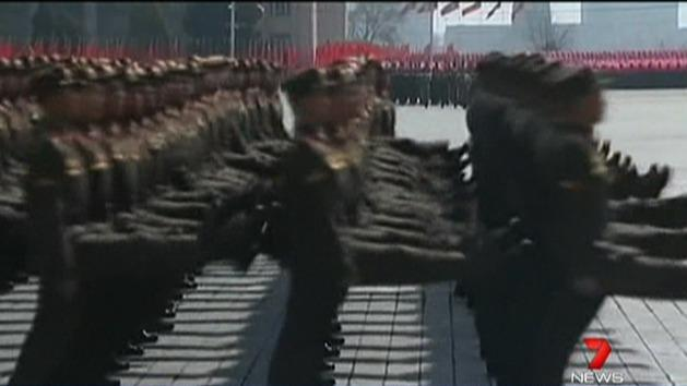 North Korea pulls out from work zone